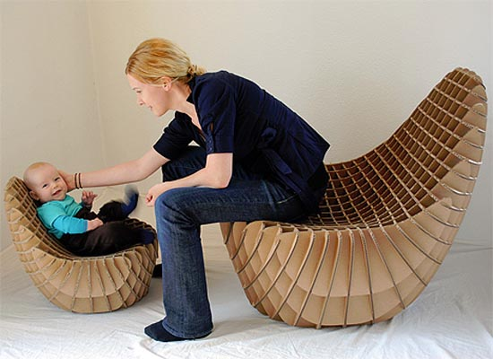 how to build a cardboard chair